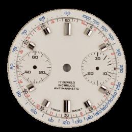 Valjoux 7733 chrono dial 30 mm