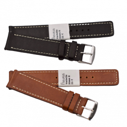Leather strap 20mm