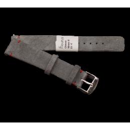 Bracelet nubuc 18mm avec...