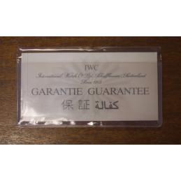 Certificate of guarantee IWC