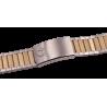 Omega Bracelet plaqué or acier 1286/249