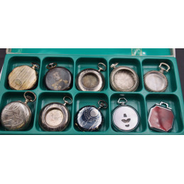Lot of pocket watch NOS cases