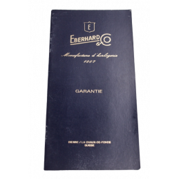 Eberhard blank guarantee...