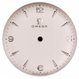Omega vintage dial from the...