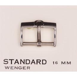 Omega steel buckle 16 mm