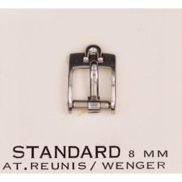 Omega steel buckle 8 mm