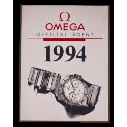 Plaque de présentation Omega