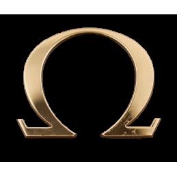 Omega logo to stick