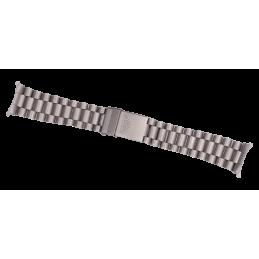 Bracelet HEUER acier brossé...