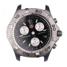 Case and dial tag Heuer tag...