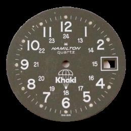 HAMILTON dial for Khaki quartz