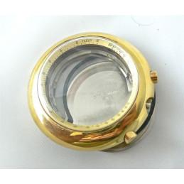 Boitier de chronographe Charles Gigandet pour Valjoux 72C plaqué or