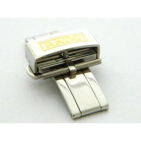 RADO Steel deployant buckle 18mm