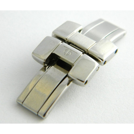 BAUME & MERCIER Hampton Steel folding buckle 15mm