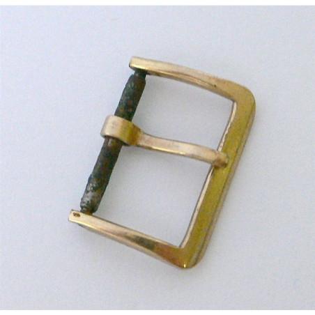 Boucle Hamilton ancienne, plaquée or, 16mm