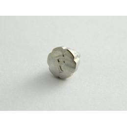Bouton poussoir acier FRED 6.50mm