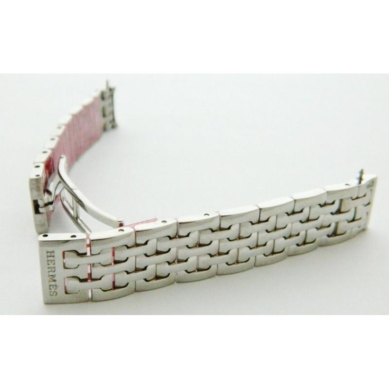 Bracelet acier HERMES 14mm