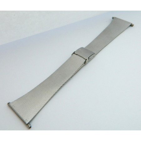 Steel milanese stitch strap 28mm
