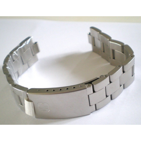 Swiss Army stainless steel strap