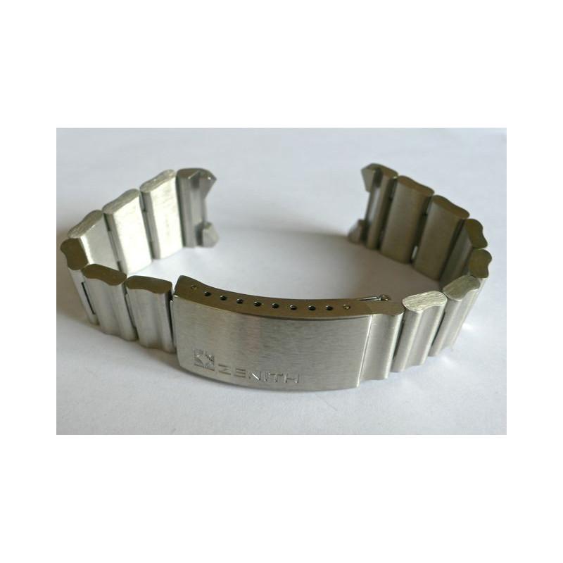 Bracelet acier Zenith pour Zenith el primero