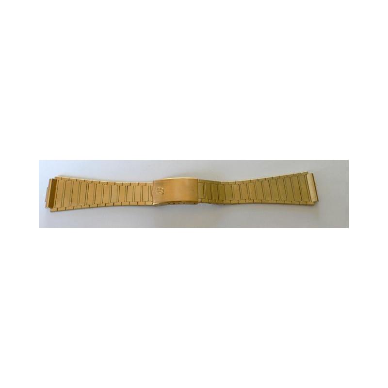 Bracelet Breitling plaqué or - 20 mm