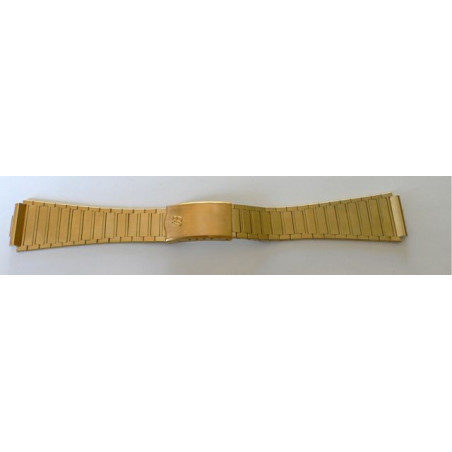 Breitling gold plated strap - 20 mm