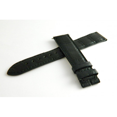 BOUCHERON Crocodile black strap - 18 mm -