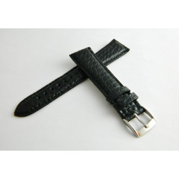 CHOPARD Black crocodile strap 20mm