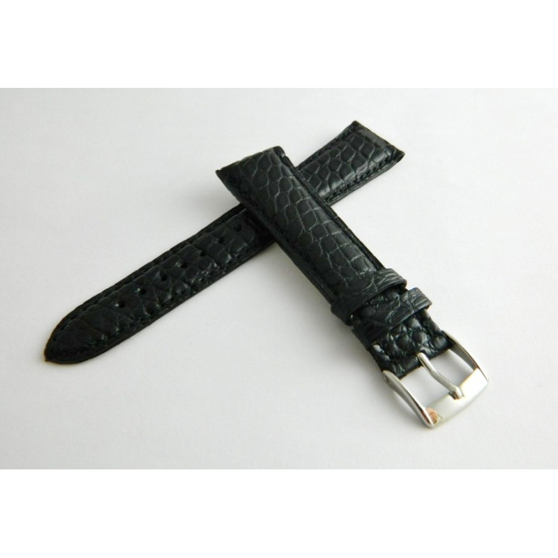 Bracelet crocodile noir CHOPARD 20mm