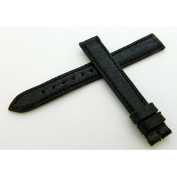 JAEGER LECOULTRE Black crocodile strap 13mm