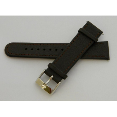 Bracelet cuir marron SWISS ARMY