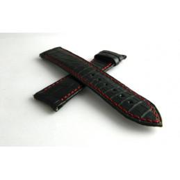 F.P Journe black croco strap 20mm