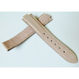 FRED Pink lizard strap 19mm