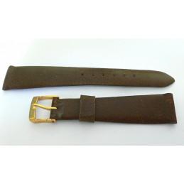 Bracelet LIP cuir marron d'un ancien stock en 17mm
