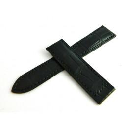 Bracelet noir crocodile PIAGET 20mm