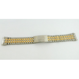 Bracelet or/acier RADO 20mm