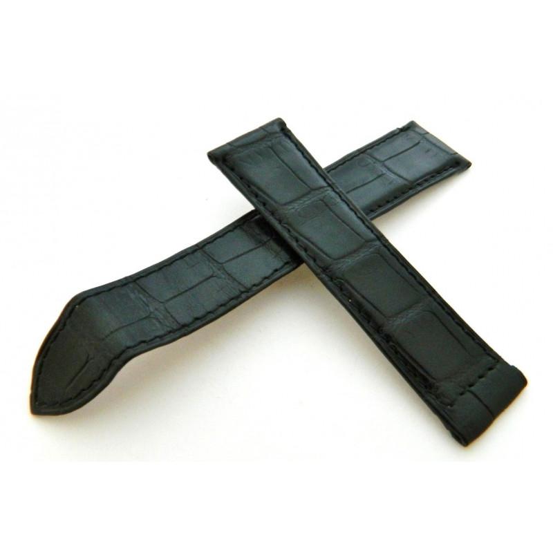 Bracelet PIAGET Crocodile noir 20mm