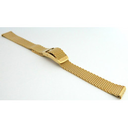 HAMILTON Plated gold strap 14mm