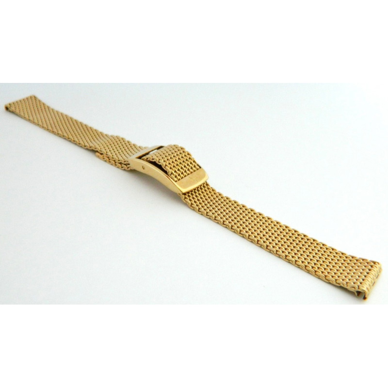 Bracelet plaqué or HAMILTON 14mm