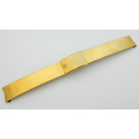 HAMILTON Plated gold strap 16mm