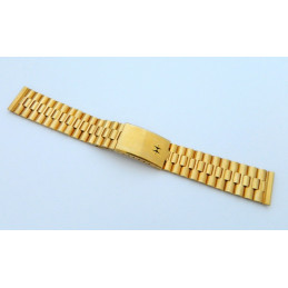 HAMILTON Plated gold strap 18mm