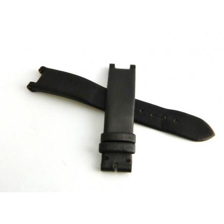 Bracelet satin marron foncé CARTIER Pasha 15.50mm