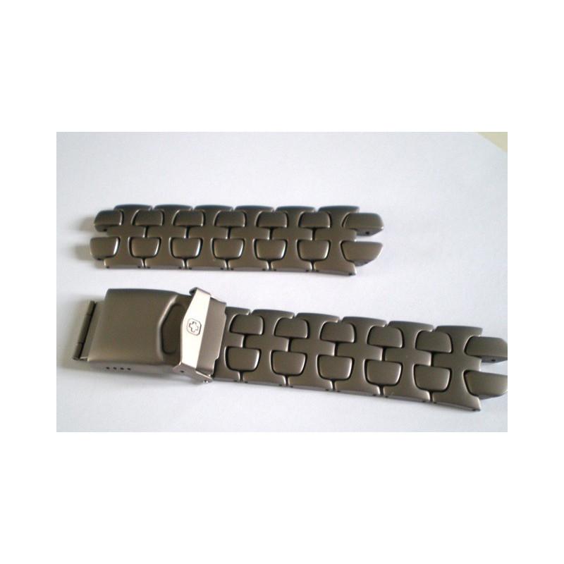 bracelet Swiss Army titane