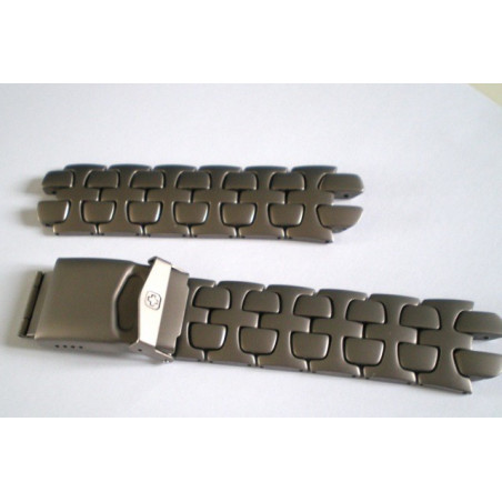 Swiss Army titanium strap