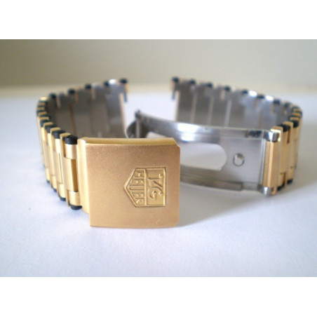 TAG HEUER Strap golden 21mm