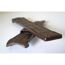 Bracelet ZENITH Defy Extreme croco marron 23mm
