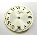 Cadran blanc BAUME & MERCIER 18.50mm