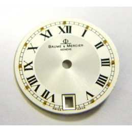 BAUME & MERCIER White dial 18.50mm