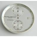 Cadran blanc BAUME & MERCIER 31.90mm