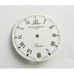 BAUME & MERCIER Riviera white dial 26mm